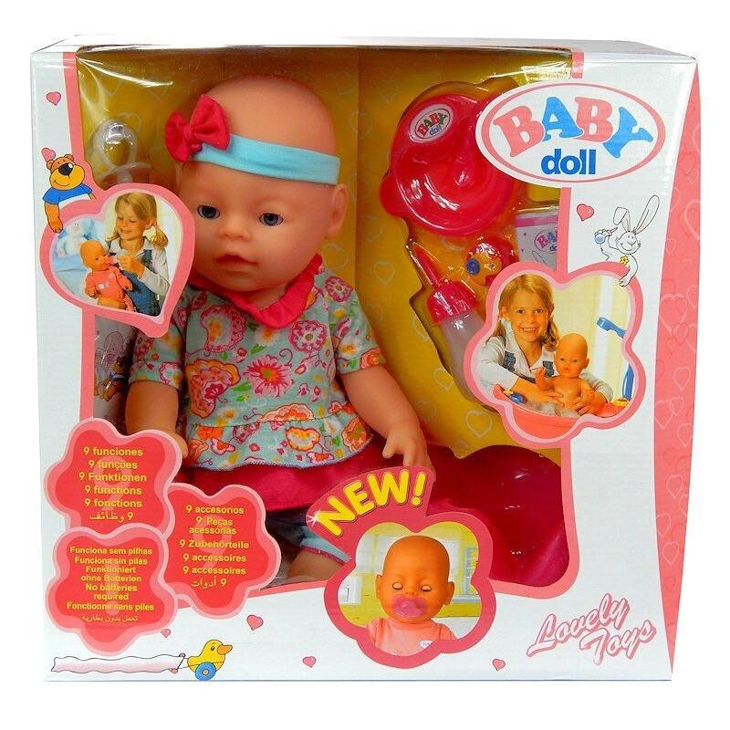 Interaktywna Lalka Baby Doll Dziewczynka Jak Dziecko!