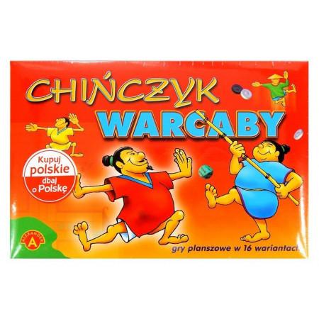 Chińczyk Warcaby 2w1 16 wariantów gier Alexander