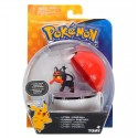 Figurka Pokemon Litten i Poke Ball TOMY
