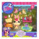 Rodzina Królików Mama i Dzieci Littlest Pet Shop Hasbro