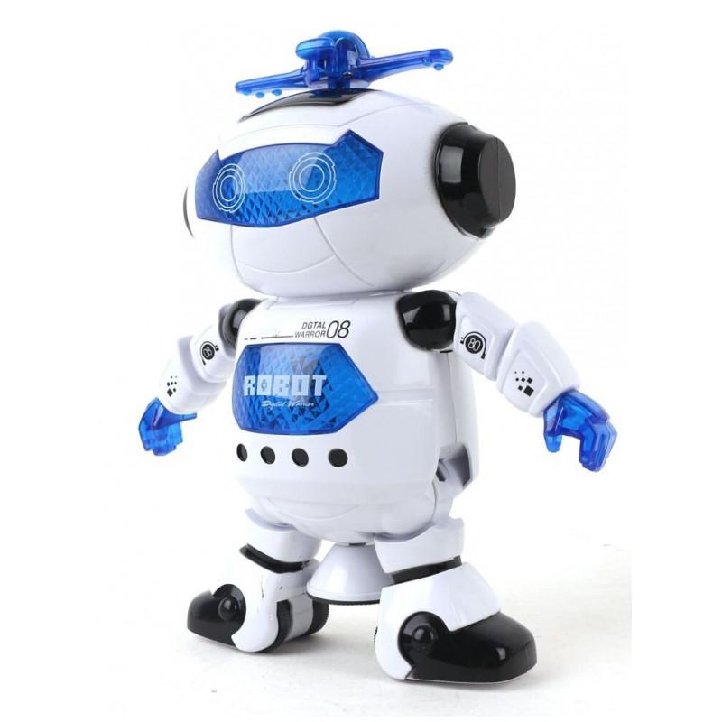Tańczący i świecacy ROBOT interaktywny NauGoTy na baterię