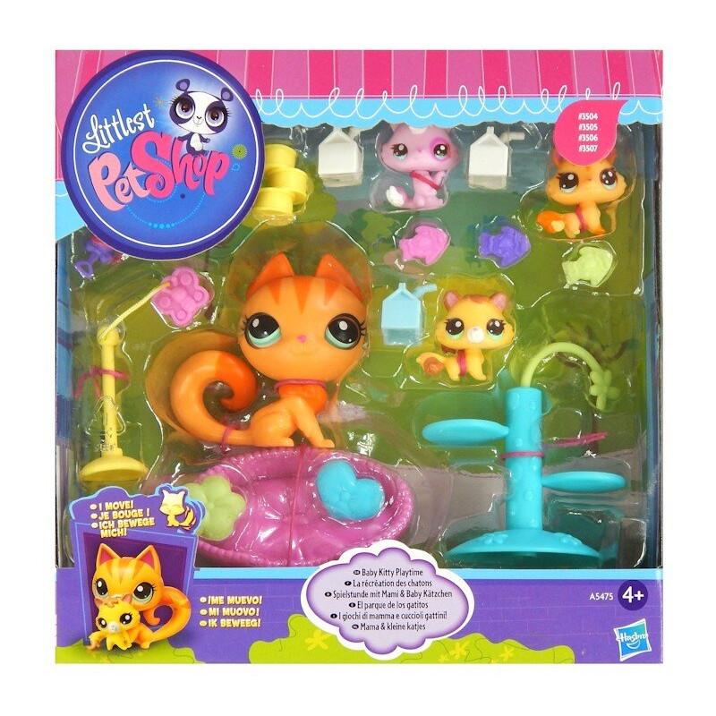Rodzina Kotków Mama i Dzieci Littlest Pet Shop Hasbro