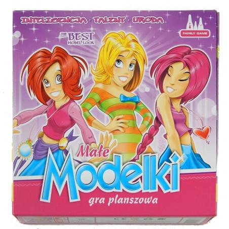 Gra planszowa Małe MODELKI dla dziewczynek