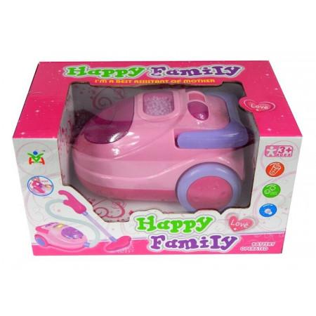 Odkurzacz na baterie Happy Family dźwięk i światło