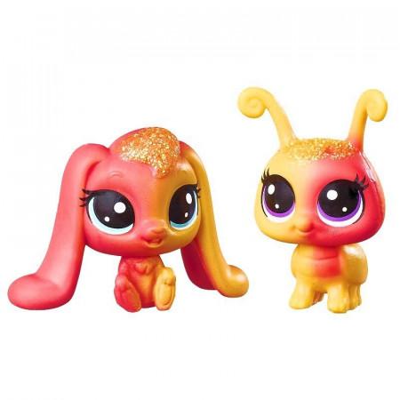 Króliczek i Świetlik Tęczowe Zwierzaki Littlest Pet Shop Hasbro