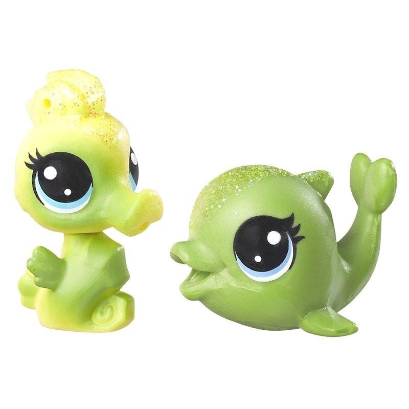 Konik Morski i Delfinek Tęczowe Zwierzaki Littlest Pet Shop Hasbro