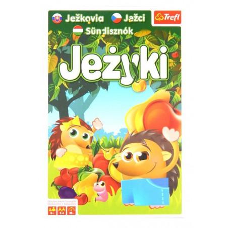 JEŻYKI Trefl - rodzinna gra planszowa