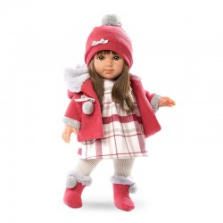 Lalka Llorens Elena różowa 35 cm