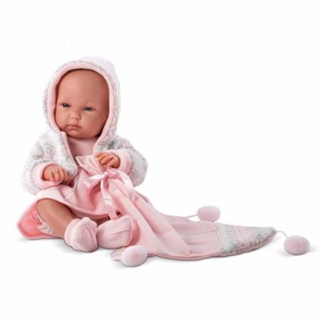 Lalka Llorens Joelle Toquilla Dziewczynka Płacze 38 cm
