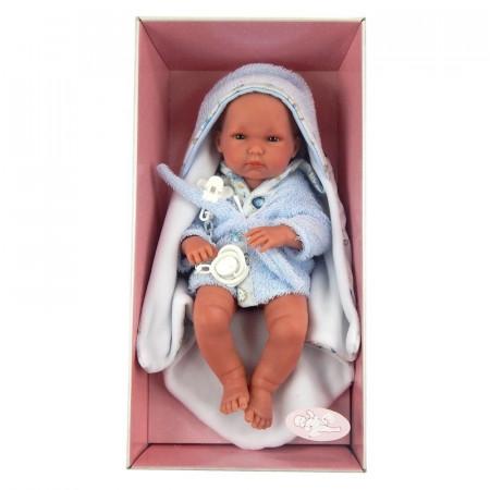 Lalka Llorens bobasek chłopczyk do kąpieli 35 cm