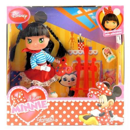 Śliczna Laleczka Malarka I Love Minnie Disney