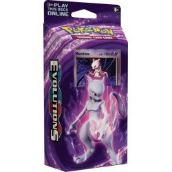 Pokemon XY12 Evolutions MEWTWO MAYHEM Theme Deck