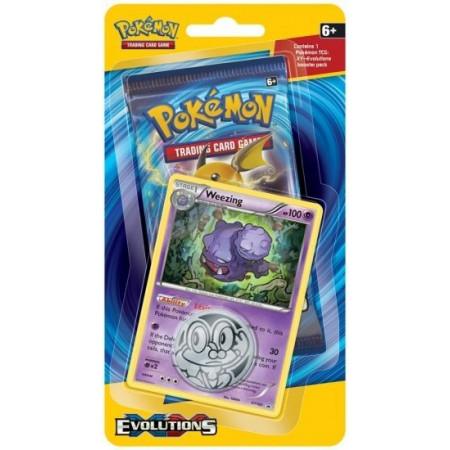 Pokemon XY12 Evolutions WEEZING Checklane Blister