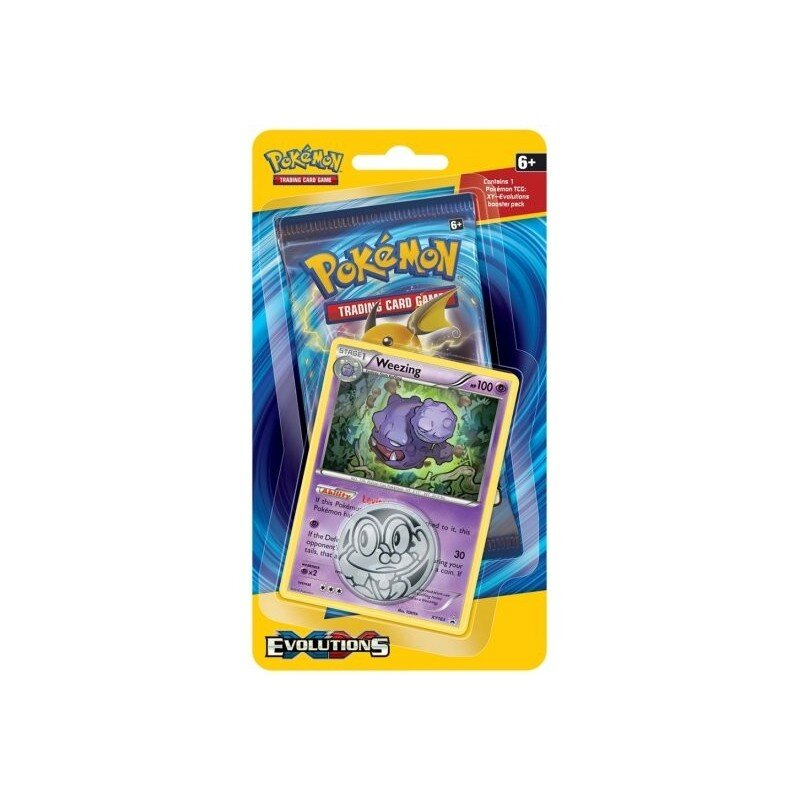 Pokemon XY12 Evolutions WEEZING Checklane Blister