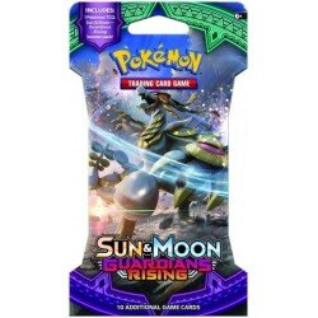 Pokemon Sun & Moon 2: Guardians Rising Sleeved Booster