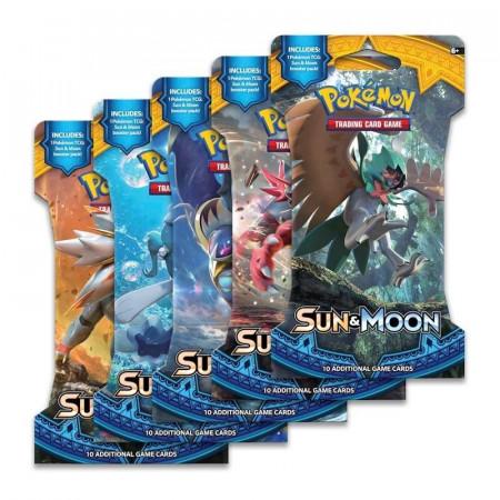 Pokemon Sun & Moon Sleeved Booster