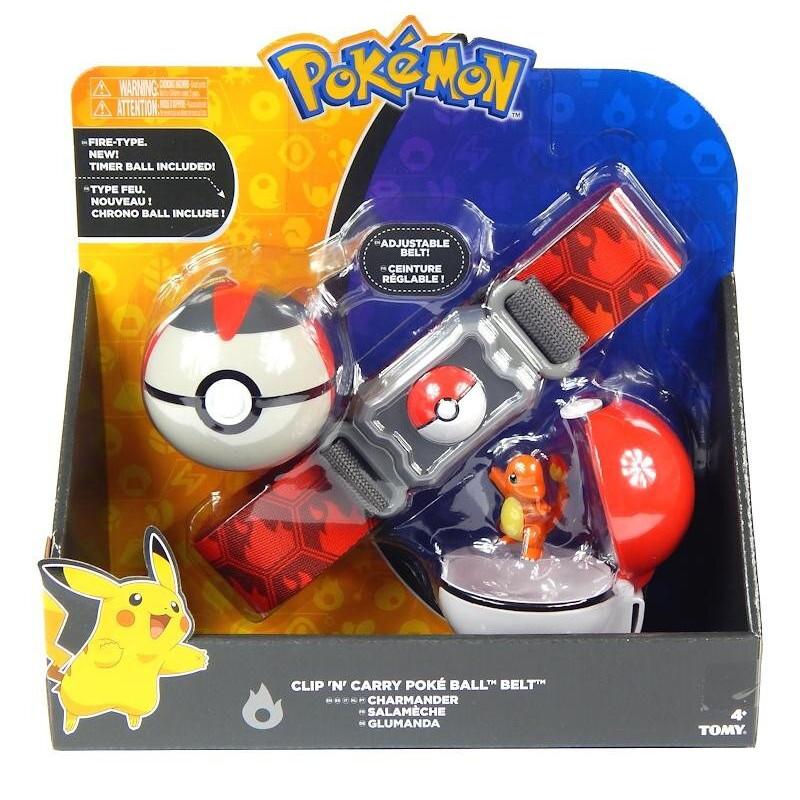 Pas trenera Pokemon i figurka Charmander Tomy