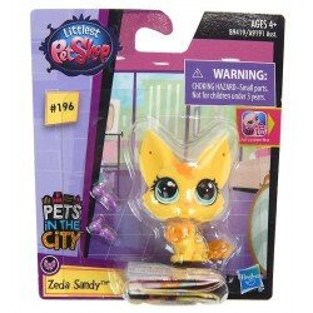 Figurka Lisek Zeda Sandy Littlest Pet Shop Hasbro