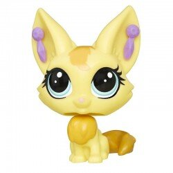 Figurka Lisek Zeda Sandy Littlest Pet Shop Hasbro