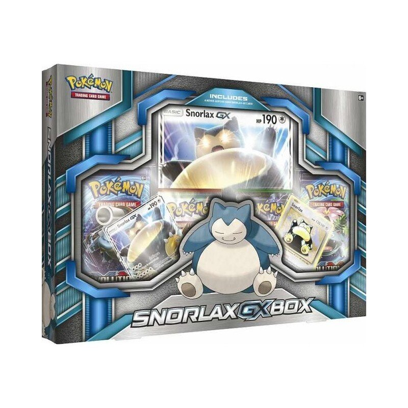 Pokemon Snorlax-GX Box