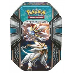 Pokemon Spring Tin 2017 Legends of Alola SOLGALEO-GX