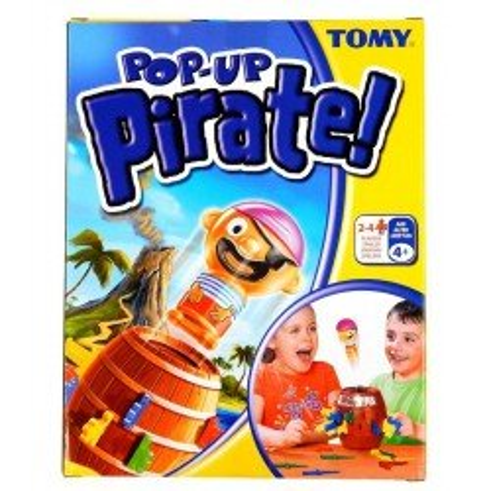 Gra rodzinna Pirat w Beczce Tomy