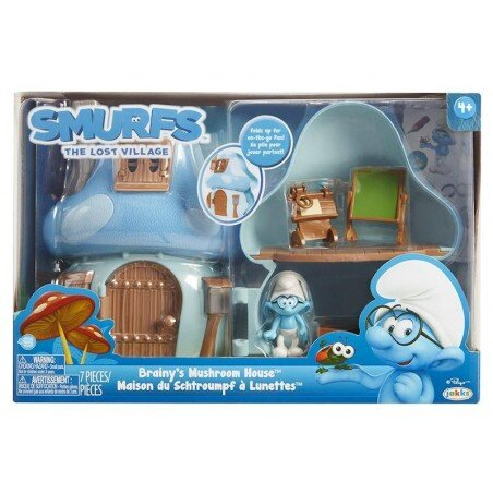 The Smurfs The Smurf House of the Highlander with a figure
