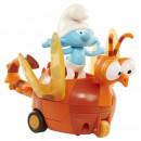 Smerf Ciamajda i smocza ważka Pojazd z Figurką Smerfy