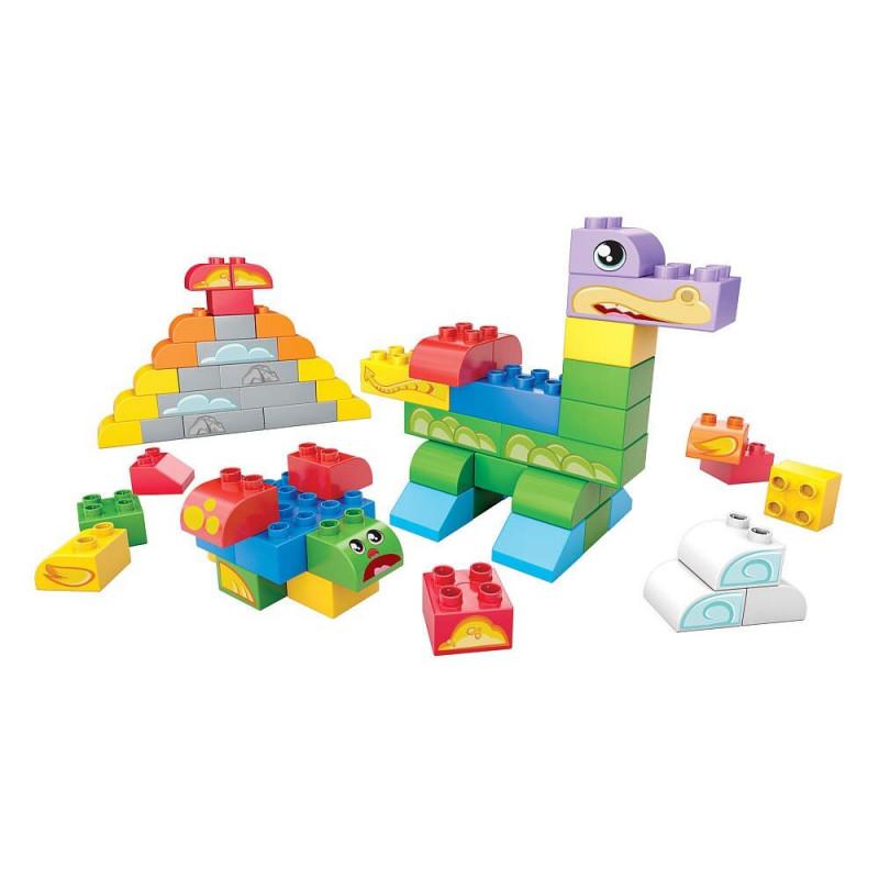 Mega Bloks Junior klocki w pudełku 60 el.