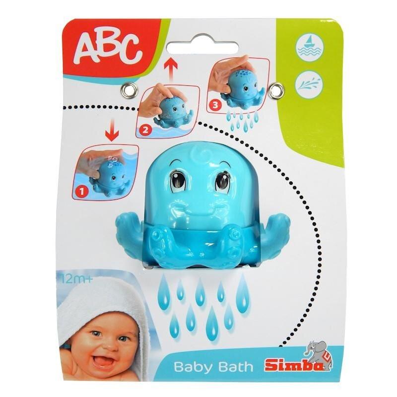 Wesoła Ośmiornica do Kąpieli ABC Simba