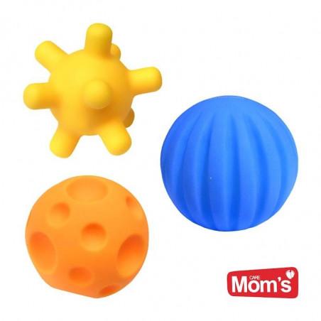 Piłeczki Sensoryczne 3 szt. Hencz Toys