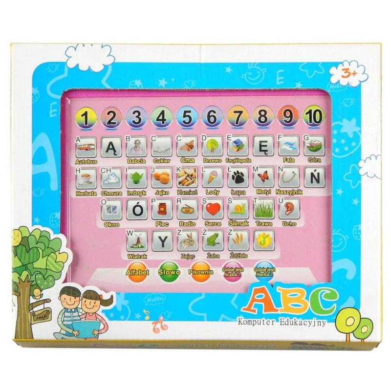 Komputer edukacyjny ABC Tablet język polski