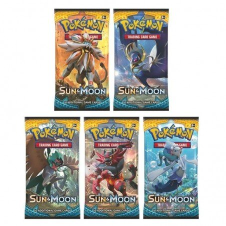 Pokemon Sun & Moon Booster Pack