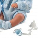 Lalka Llorens Pipo Chłopczyk w niebieskich śpioszkach 35 cm