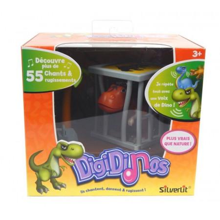 DigiDinos Dinozaur Tate w Klatce Tańczy i Śpiewa