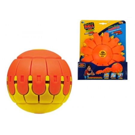 EPEE Latająca Dyskopiłka JUNIOR Świecąca w Ciemności Pomarańczowo Czerwona