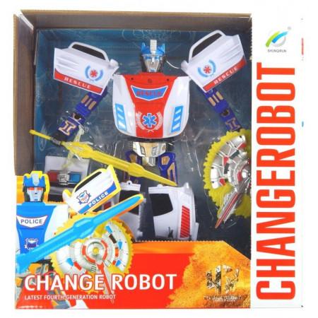 Obrońca Sprawiedliwości Transformers Robot Samochód