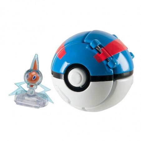 Pokemon Poke Ball Throw 'N' Pop z figurką Pikachu TOMY