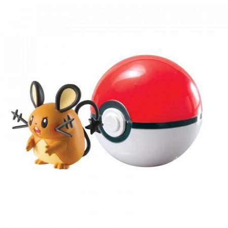 Figurka Pokemon DEDENNE i Poke Ball TOMY
