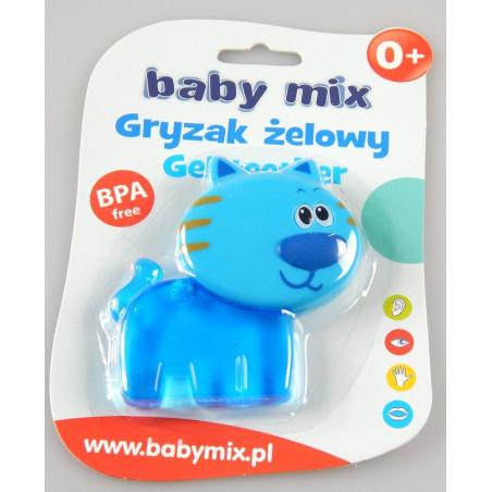 Gryzak Żelowy Kotek na ząbkowanie Baby Mix