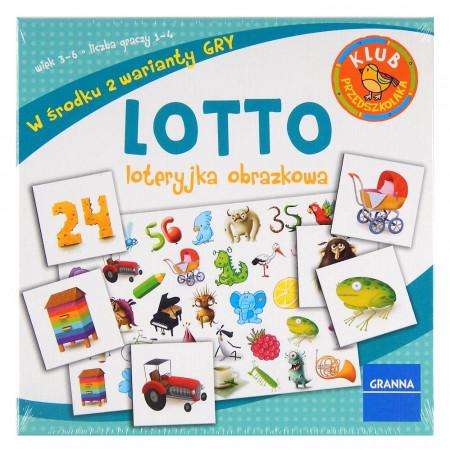Gra Lotto Loteryjka Obrazkowa GRANNA