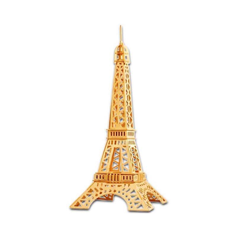 Wieża EIFFLA w Paryżu drewniane puzzle 3D przestrzenne