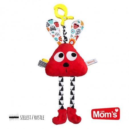 Mom's Care Czerwony Długołapek Klips