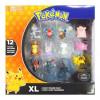 MEGA Zestaw XL Figurek Pokemon 12pak TOMY