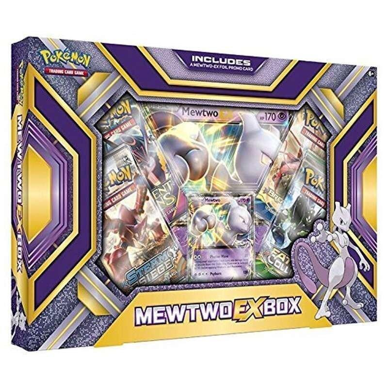 Pokemon MEWTWO-EX Box