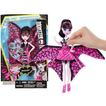 Lalka Monster High Draculaura Wampiskrzydła 2w1