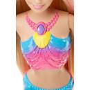 Lalka Barbie Tęczowa Syrenka ze światełkami MATTEL