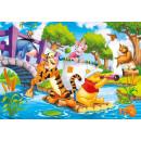 Puzzle Disney Kubuś Puchatek na tratwie 30 el. Clementoni
