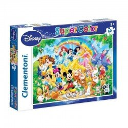 Puzzle Frozen 60 el. Clementoni Elza, Anna i Olaf