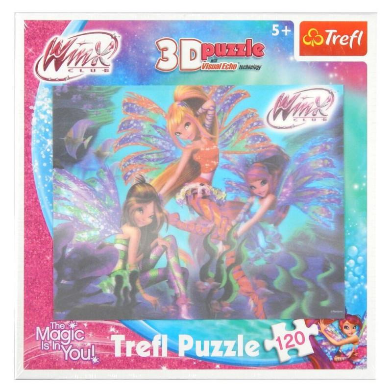 Puzzle Trefl 3D WinX 120 elementów